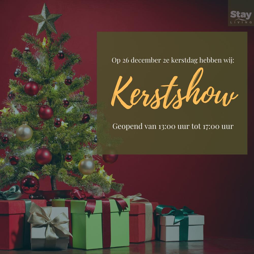 Tweede kerstdag 26 december geopend