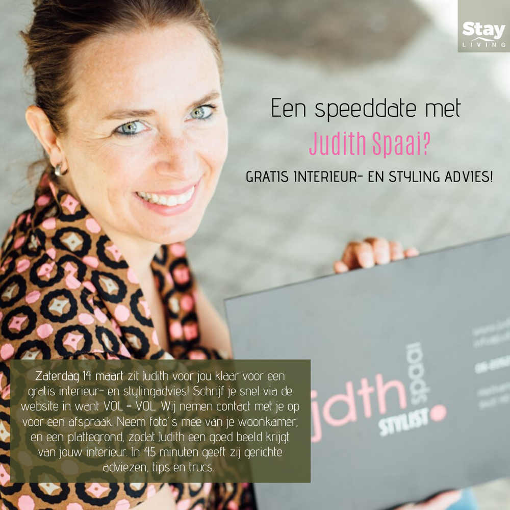 Gratis interieur- en stylingadvies!